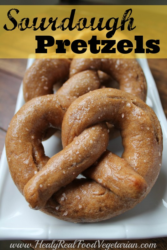 Sourdough pretzel