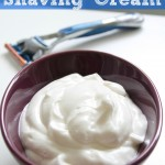 diy shaving cream pin