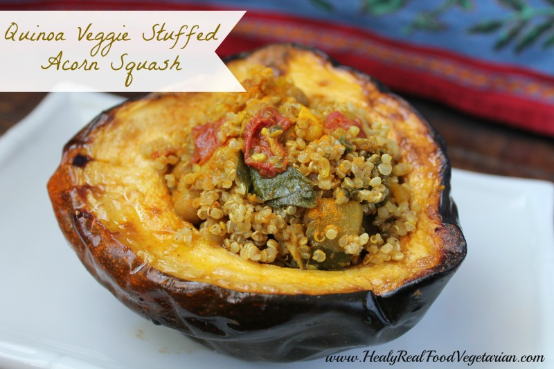 ... quinoa veggie vegan stuffed acorn squash would be a great addition to