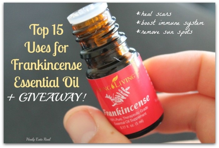 Uses for Frankincense Giveaway