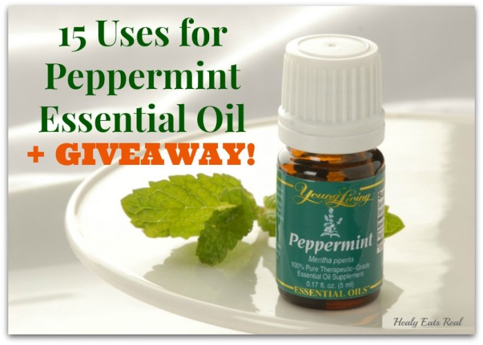 uses for peppermint essential oil giveaway