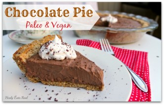 Chocolate Pie Paleo