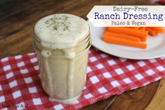 Paleo Ranch Dressing- dairy free
