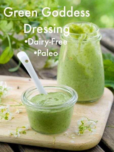 green goddess dressing dip