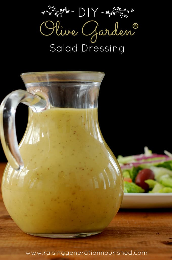 30 healthy salad dressing recipes healy eats real for Olive garden salad dressing ingredients