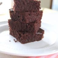 Amazing Healthy Flourless Brownies (Paleo, Gluten-Free, Dairy-Free)