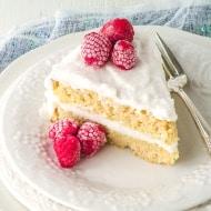 Fluffy Vanilla Coconut Flour Cake Recipe (Paleo & Keto)