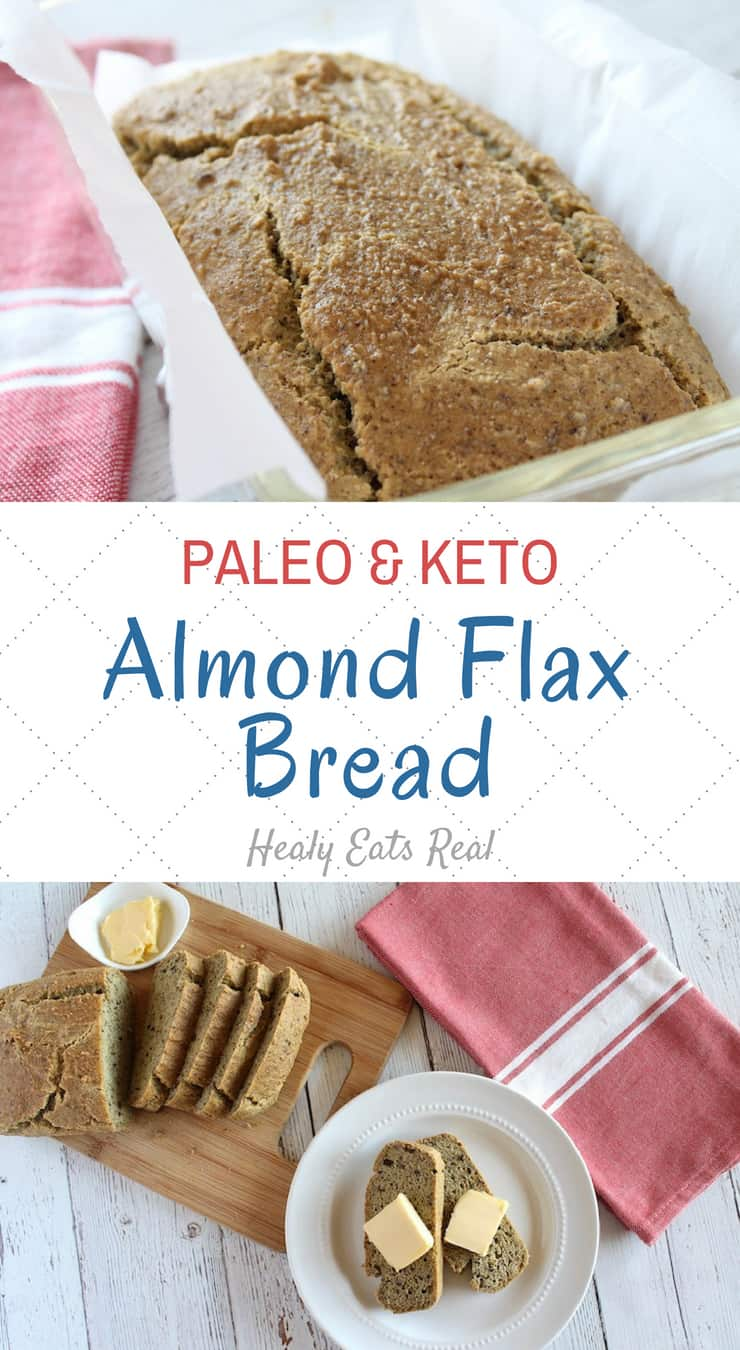 Easy Almond Flax Keto Bread Recipe with Crunchy Crust! (Paleo & GF)