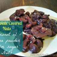 Chocolate Covered Nuts (Dairy free)