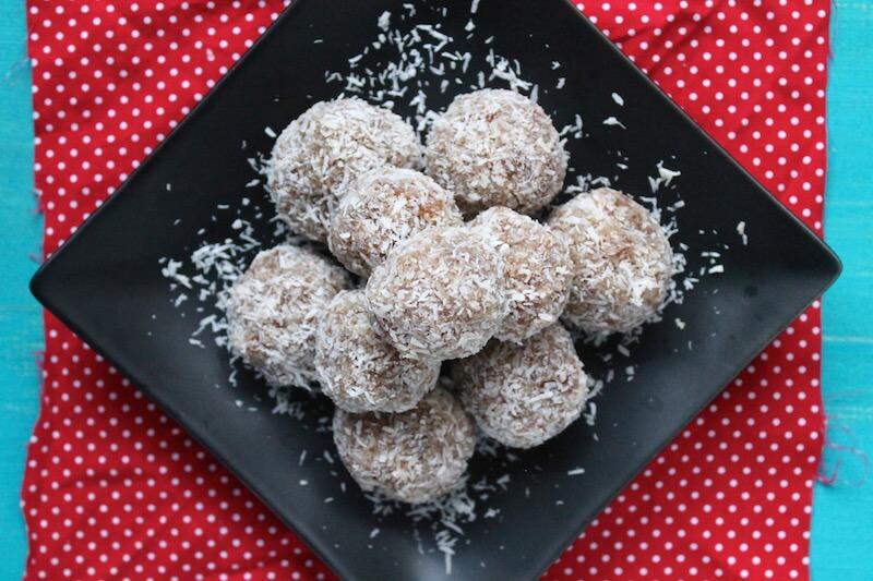 Coconut Date Rolls Paleo