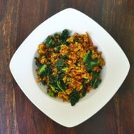 Spiced Kale Scramble