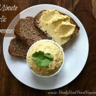 5-minute Garlic Hummus
