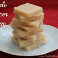 Maple Freezer Fudge (dairy-free)