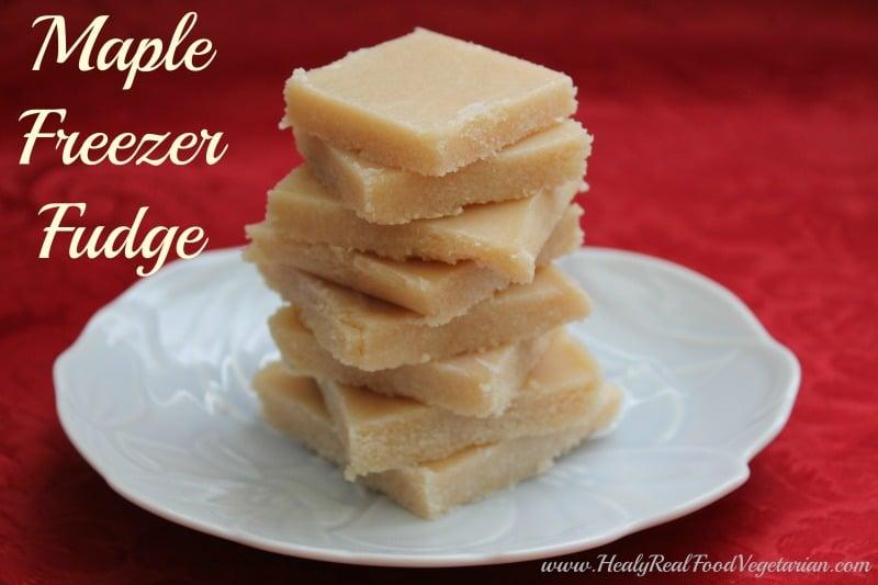 Maple Freezer Fudge