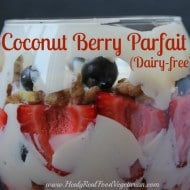 Whipped Coconut Cream Berry Parfait (Dairy-free)