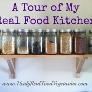 A Tour of My Real Food Kitchen