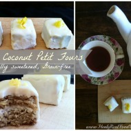 Lemon Coconut Petit Fours (Grain-free, Sugar-free)