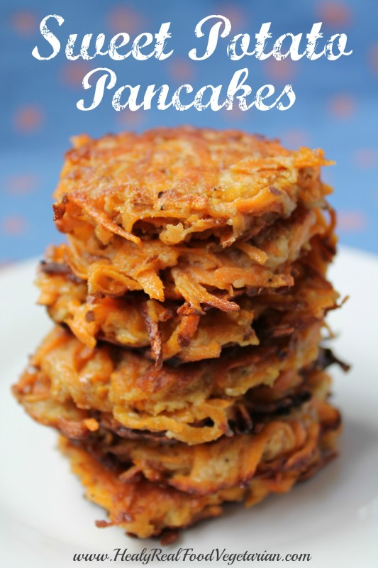 sweet potato pancakes pin