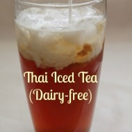 Naturally Sweetened Thai Iced Tea (Dairy-free)