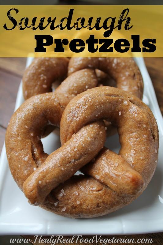 Sourdough pretzel