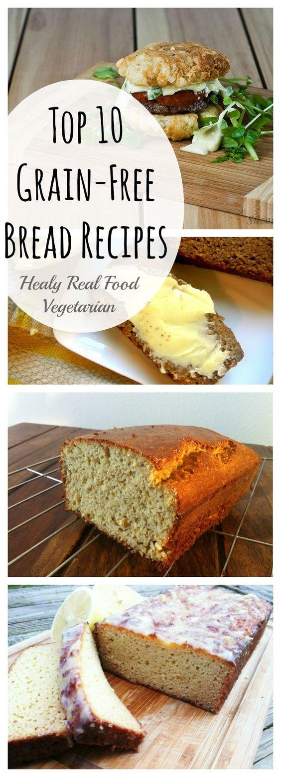 Top 10 Grain Free Bread Recipes