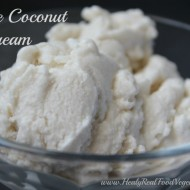 Maple Coconut Dairy-free Ice Cream