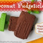 coconut fudgesicles vegan