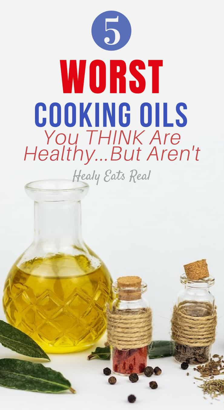 5 Worst Cooking Oils You Think Are Healthy…But Aren't- You may be surprised to find that some of the worst cooking oils are ones that you may have been told are
