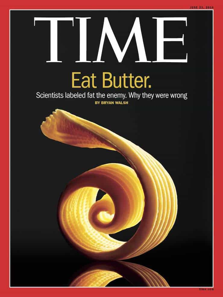 Time magazine cover about butter