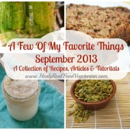 A Few of My Favorite Things: September 2013
