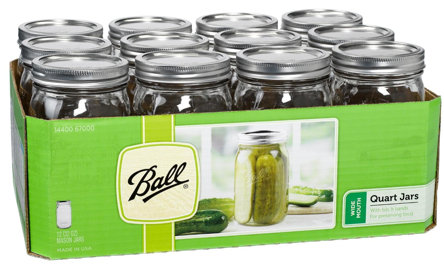 A product image of mason jars on a list of the top 6 best kitchen tools for real foodies