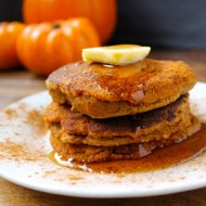 Paleo Pumpkin Pancakes (Grain Free, Dairy-free, Nut-free)