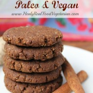 Ginger Snap Cookies (Paleo, Vegan)