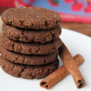 Ginger Snap Cookies (Paleo, Gluten Free & Vegan)
