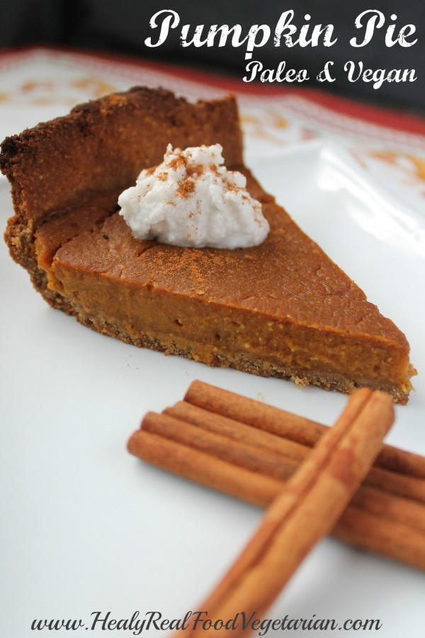 vegan pumpkin pie pin