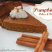 Delicious Paleo & Vegan Pumpkin Pie