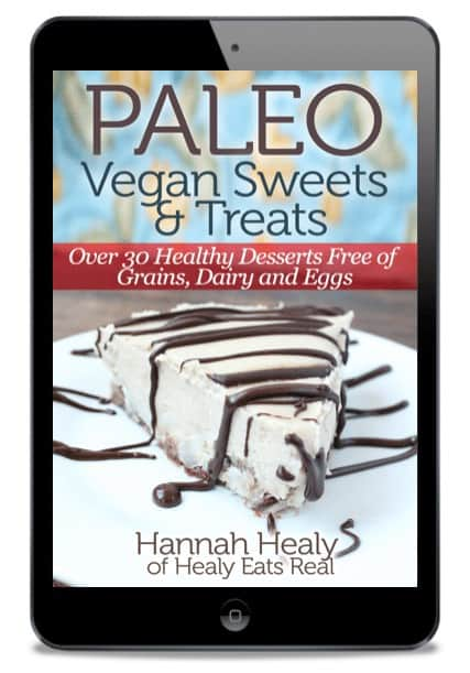 Paleo Vegan Sweets and Treats Cover