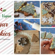Holiday Paleo Vegan Sugar Cookies