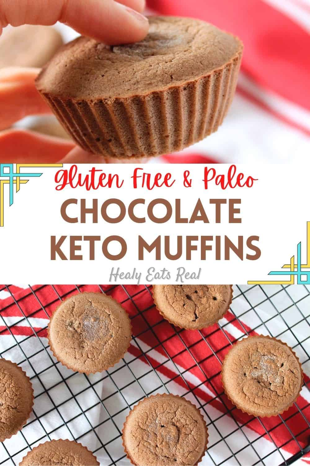 Keto Chocolate Muffins with Coconut Flour