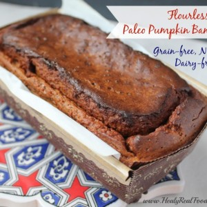 Flourless Paleo Pumpkin Bread Recipe