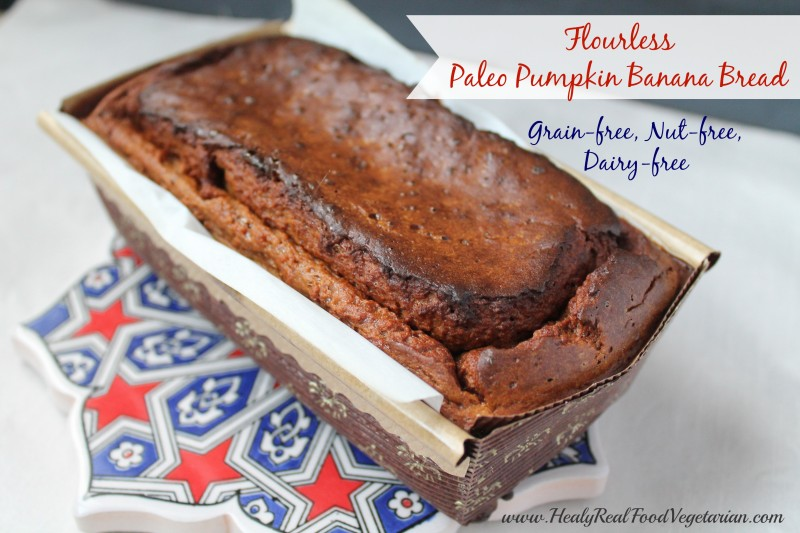 Paleo Pumpkin Banana Bread Recipe