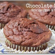 Coconut Flour Chocolate Muffin Recipe (Paleo & Gluten Free)
