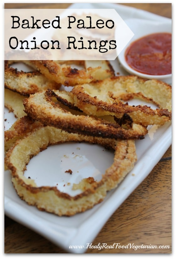 Grain-free Paleo Baked Onion Rings