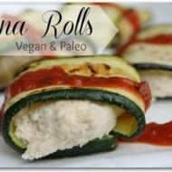 Lasagna Rolls (Vegan & Paleo)