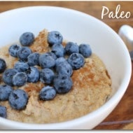 Easy Paleo Oatmeal (With Vegan Option)