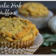 Savory Garlic Herb Paleo Muffins (Keto & Gluten Free)