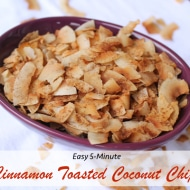 5-Minute Cinnamon Toasted Coconut Chips Recipe