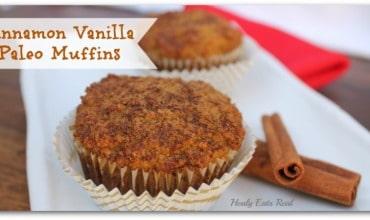 Cinnamon Paleo Muffins