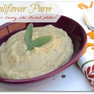 Cauliflower Puree (paleo & vegan)