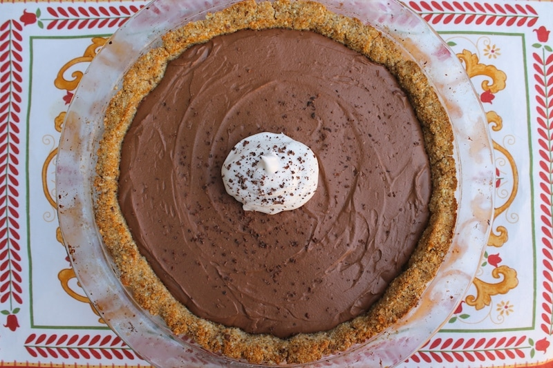 Chocolate Cream Pie Recipe Paleo Vegan